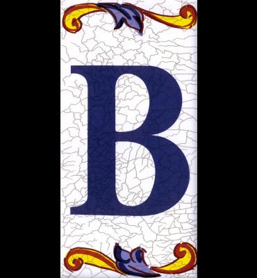 Buchstabe B Catalan Groß