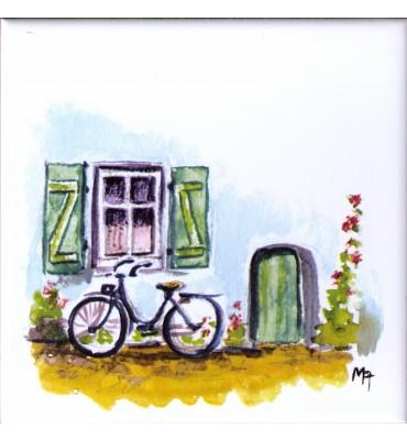 Bildfliese Fahrrad