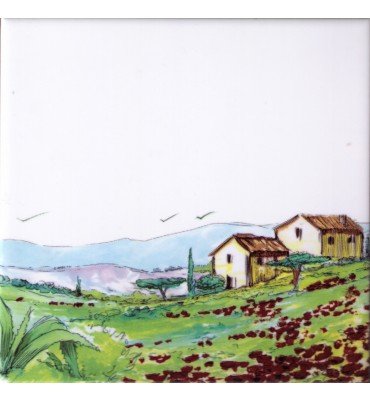 Bildfliese Provence