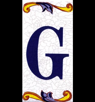 Buchstabe G Catalan Groß