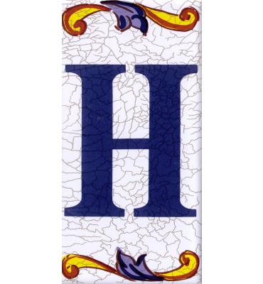 Buchstabe H Catalan Groß