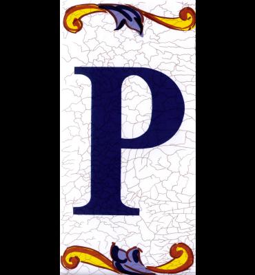 Buchstabe P Catalan Mini
