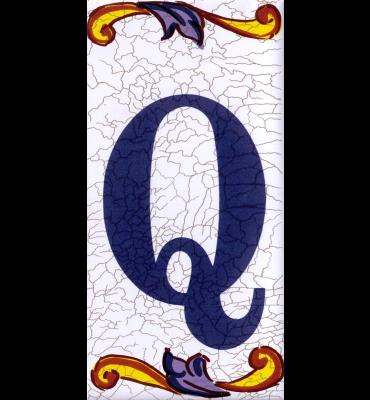Buchstabe Q Catalan Mini