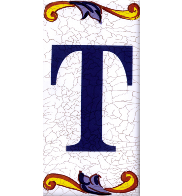 Buchstabe T Catalan Mini