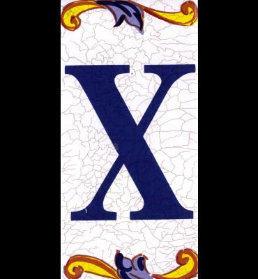 Buchstabe X Catalan Mini