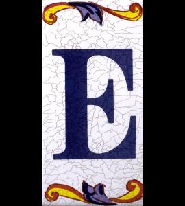 Buchstabe E Catalan Groß