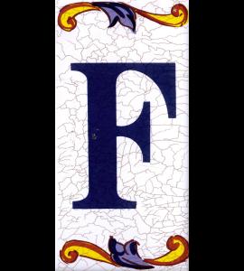 Buchstabe F Catalan Groß