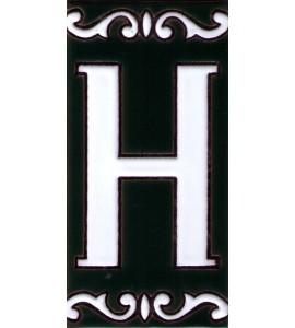 Zahl H Dekor Cume