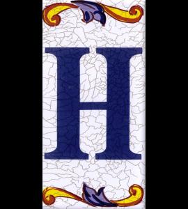 Buchstabe H Catalan Mini