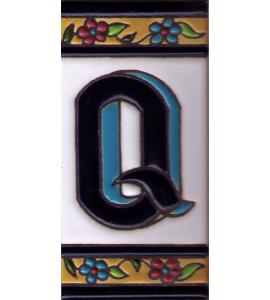 Buchstabe Q Dekor Sevilla