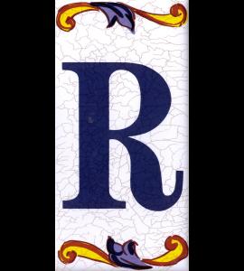 Buchstabe R Catalan Groß