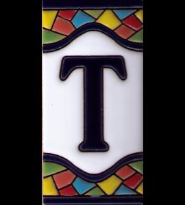 Buchstabe T Gaudi Dekor